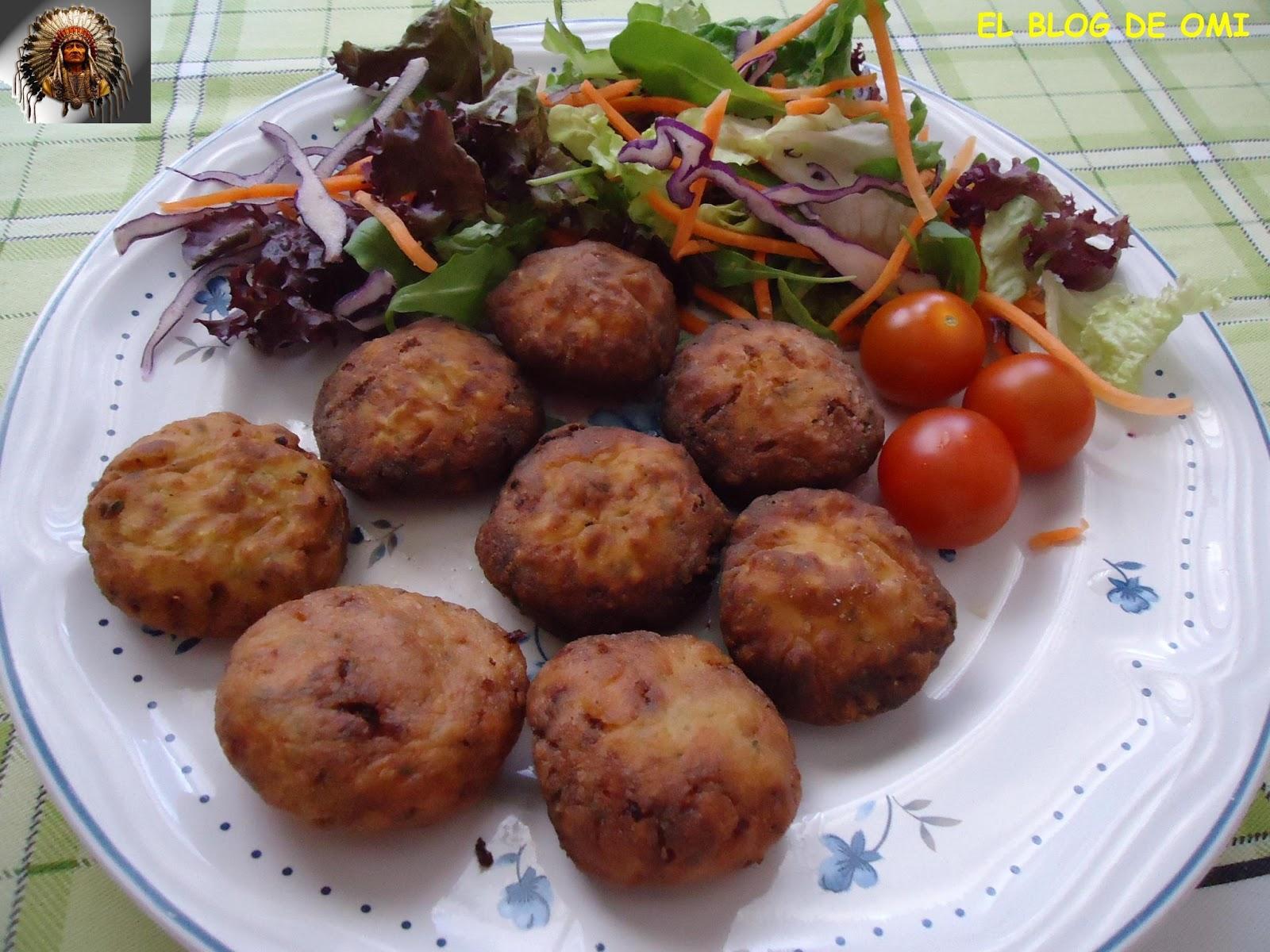 El blog de omi alb ndigas de patata y reques n - Albondigas de patata ...