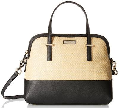 Kate Spade Cedar Street Straw Maisie Satchel Bag $140 (reg $278)