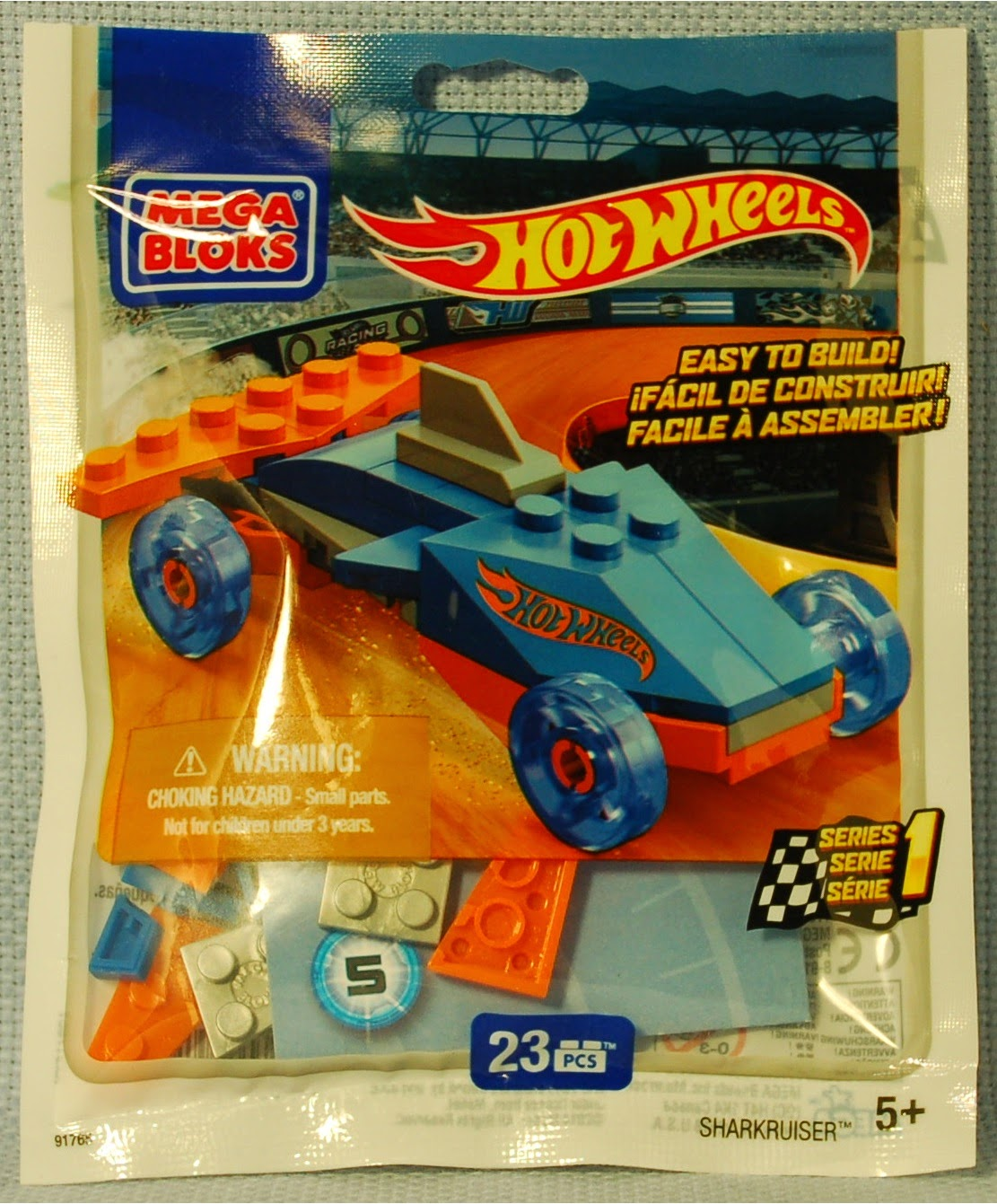 The Mobile Frame Garage: Purity: 91765 Mega Bloks Hot