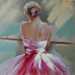 Μπαλαρίνα: πίνακας ζωγραφικής για κορίτσια