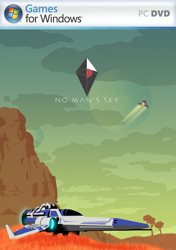 No Man's Sky Download Cover Free Game