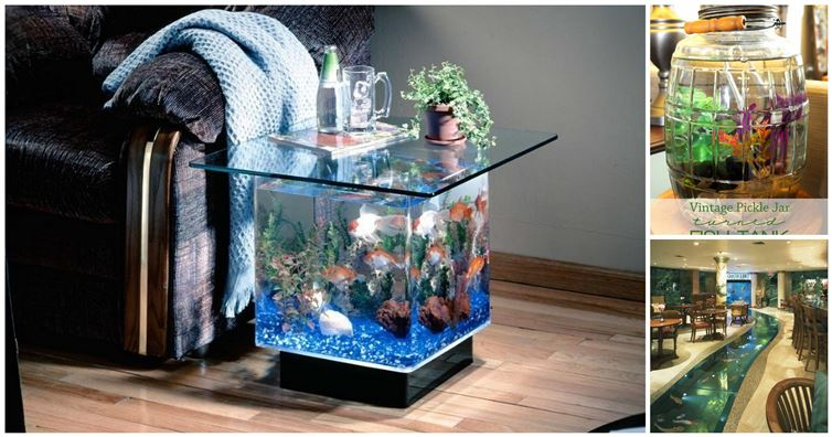 20 unusual and creative aquarium designs computer fun for Fun fish tank