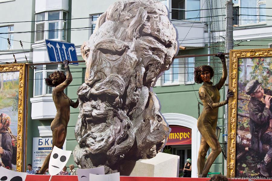 Творчество Степана Эрьзи на праздновании тысячелетия единения мордовского народа с народами России