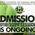 FCAHPTVOM ND, HND & Remedial Admission Form On Sale - 2018/2019