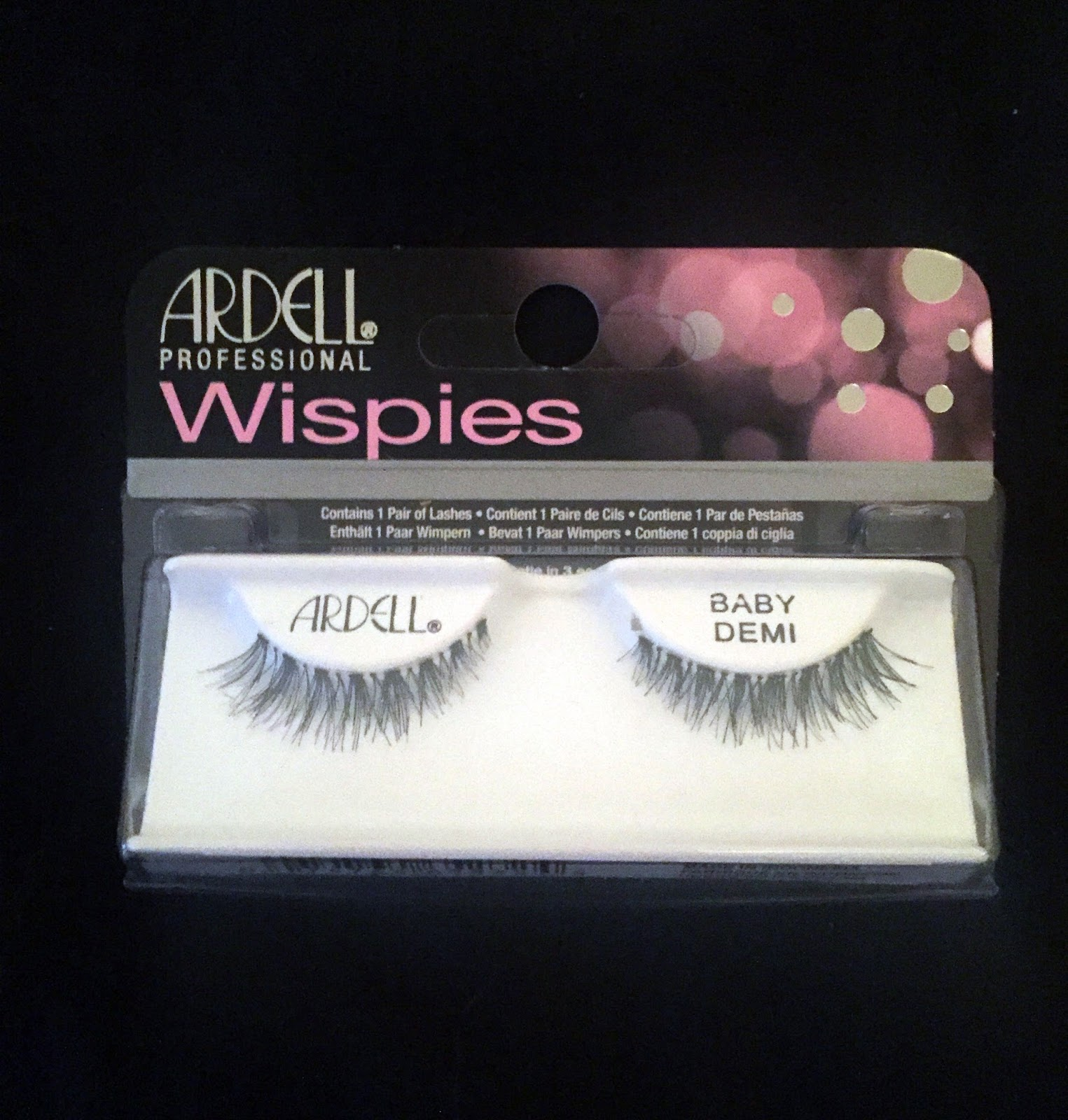 e6094dbbd2f Ardell Professional Lashes Baby Demi Wispies False Lashes photo by me.