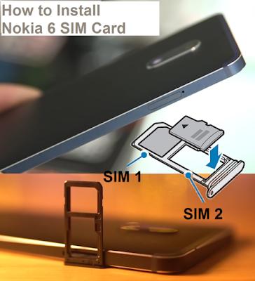 Nokia 6 SIM Card