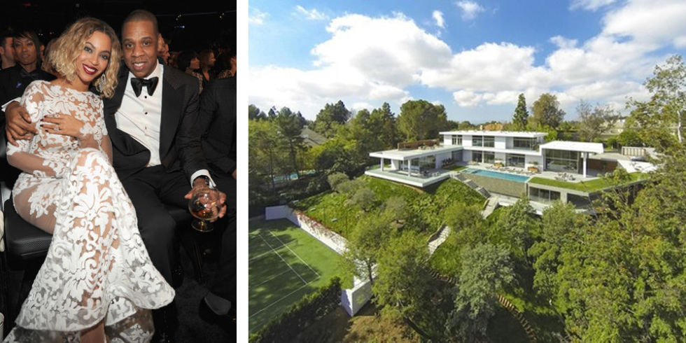 Luxury mansions celebrity homes beyonce and jay z for One month rental los angeles