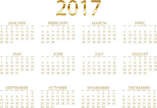 2017カレンダー無料テンプレート32