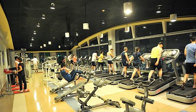 Phòng tập Gym tại Imperial Plaza