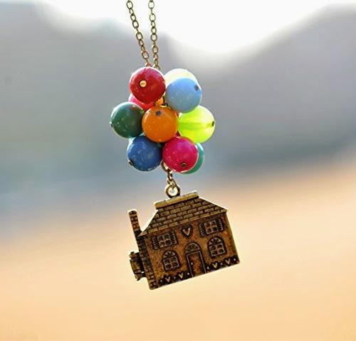 Pixar Up necklace