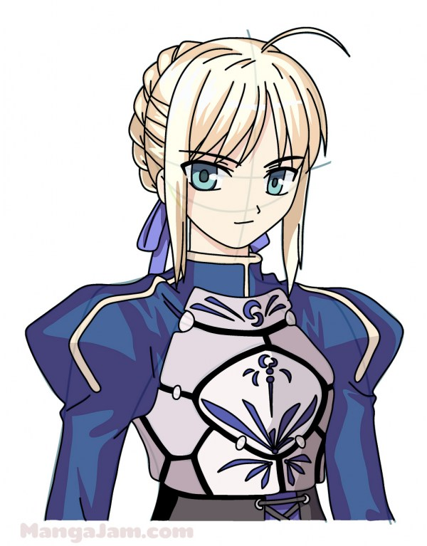 how to draw Saber from Fate/Zero - Welcome