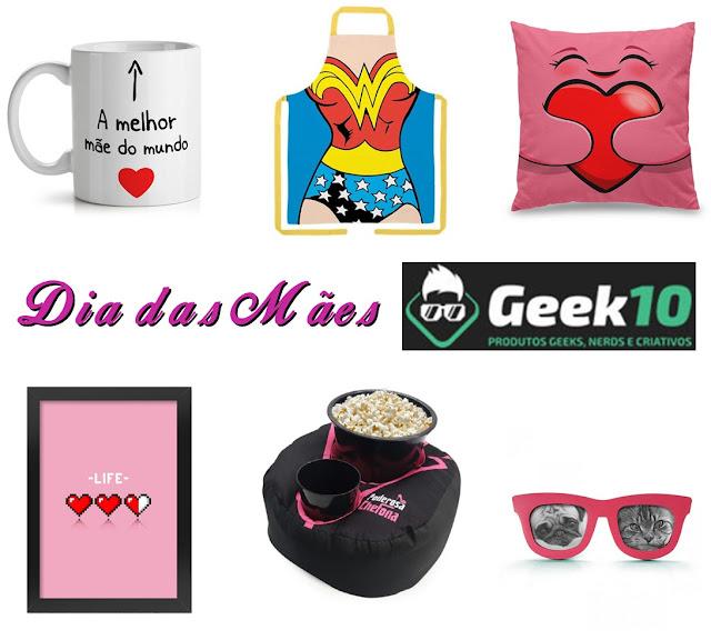 Dicas de presentes criativos para o Dia das Mães na loja Geek 10