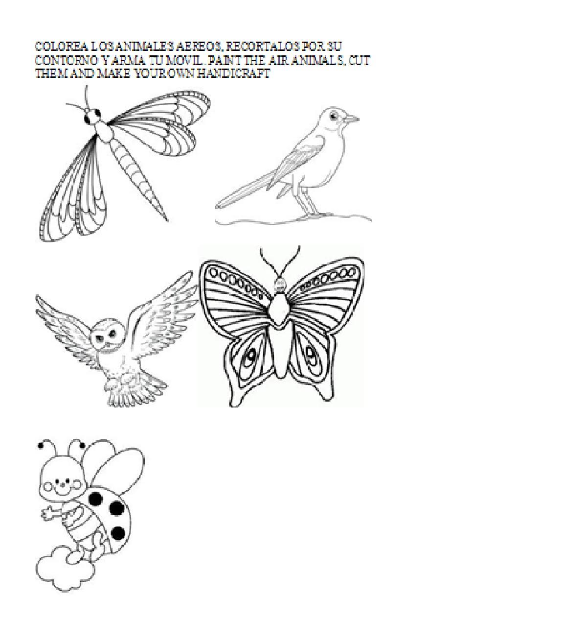 Aprendamos Ciencias Naturales En Ingls Guia 4 Animales