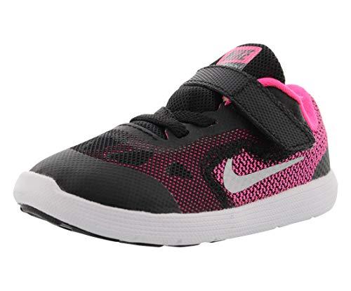 4c53dd89ab00e NIKE Girls  Revolution 3 Running Shoe (TDV)