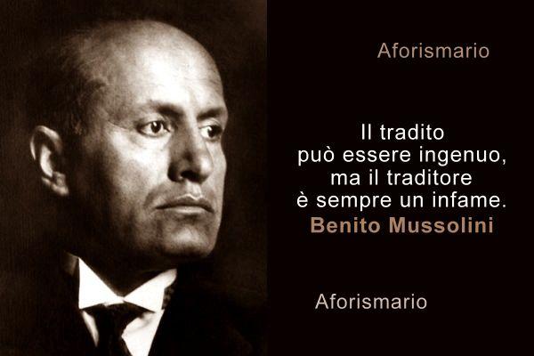 Aforismario Citazioni E Frasi Celebri Di Benito Mussolini