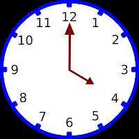 Gambar jam pukul 04.00