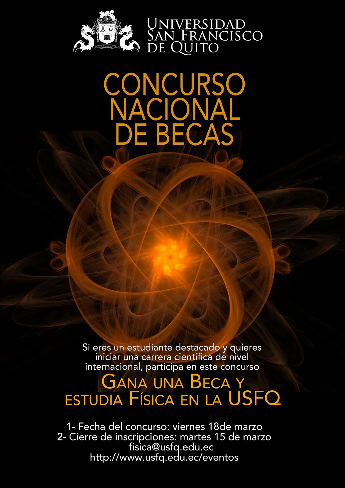 Concurso Nacional de Becas Enrico Fermi 2016