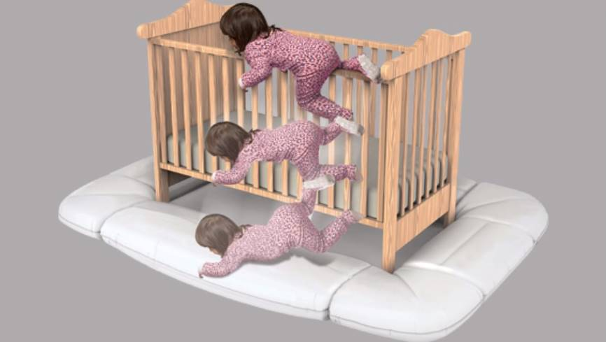 The Dreamcatcher Is An Innovative New Product To Prevent Children From Hurting Themselves Once They Start Climbing Out Of The Crib