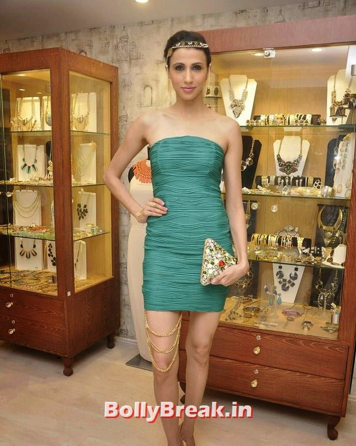 Alesia Raut, Pics from Bansri Mehta Jewellery Lounge Preview