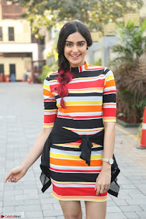 Adha Sharma in a Cute Colorful Jumpsuit Styled By Manasi Aggarwal Promoting movie Commando 2 (64).JPG