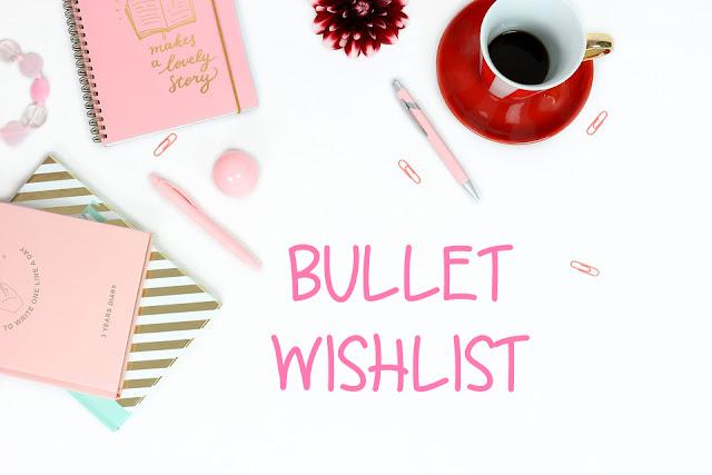 Bullet journal : Ma petite wishlist