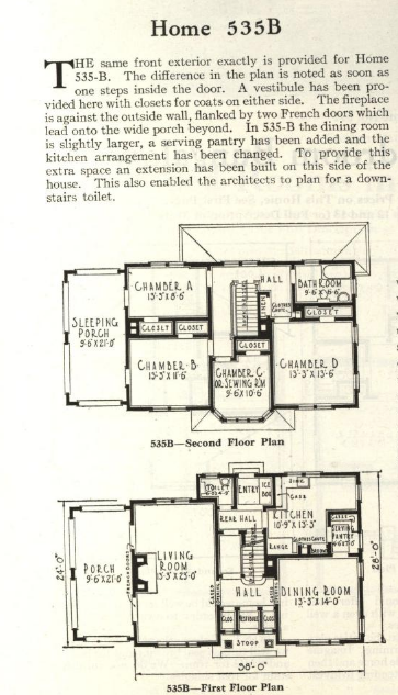 Gordon-Van Tine No. 535 floor plan