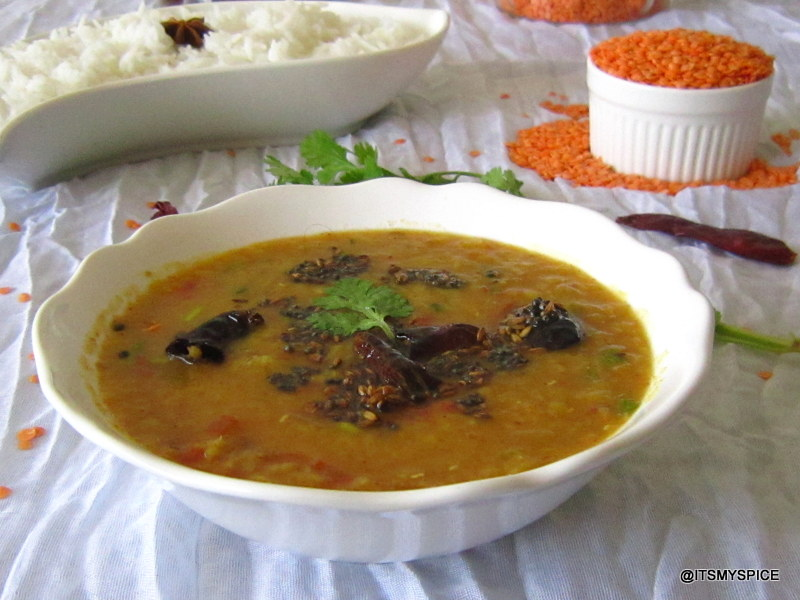 It's my Spice !: Masoor Dal