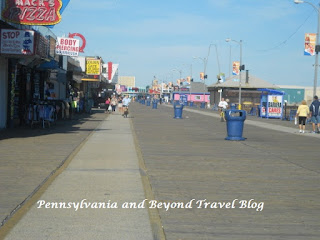 The Beautiful Wildwood Boardwalk in New Jersey
