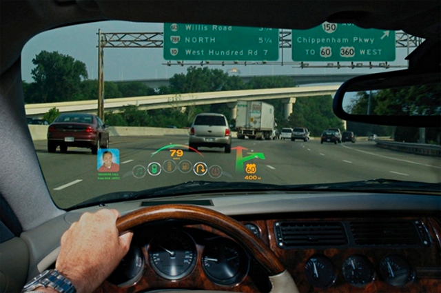 w info autos hud head up displays windshield projection technologies. Black Bedroom Furniture Sets. Home Design Ideas