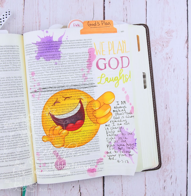 Heather's Hobbie Haven - Illustrated Faith I Am Devotional Kit - Day 11