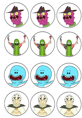 free rick and morty birthday printables