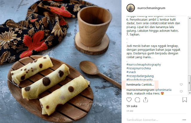 food blogger nur rochma