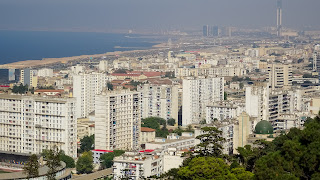 But from up there its possible to see whole algier