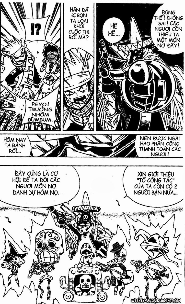 Shaman King [Vua pháp thuật] chap 149 trang 8
