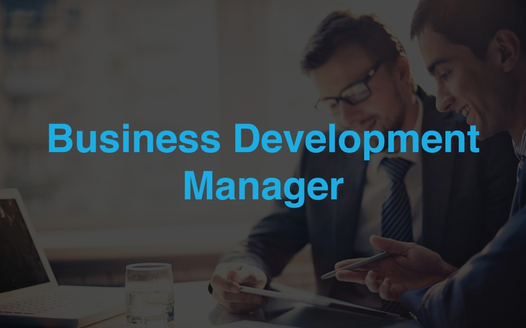 Business Development Manager For Melville Office High Offer Jobs