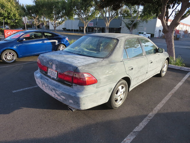 Honda Accord with customer's body repairs BEFORE paint job at Almost Everything Auto Body