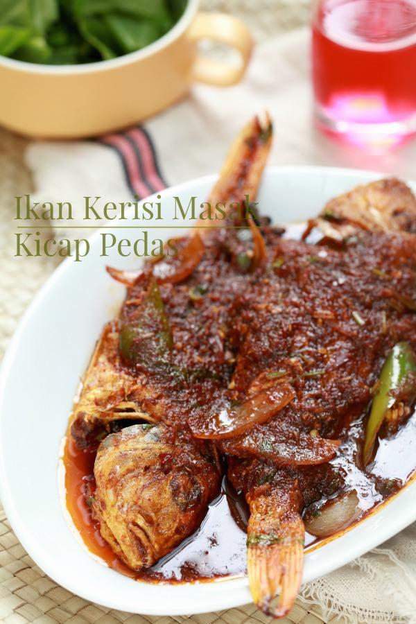 ikan kerisi masak kicap pedas masam manis Resepi Ikan Masak Kicap Azlita Enak dan Mudah