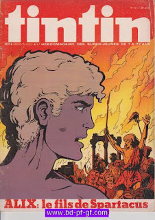 Tintin- numéro 42, année 29, 1974, Alix