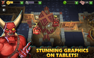 Dungeon Keeper v1.6.83 Mod Apk Unlimited Gems1