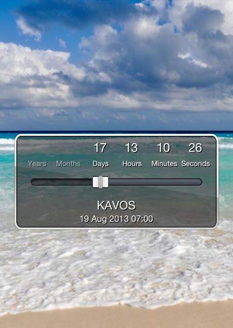 The Kavos countdown