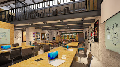Source: The Executive Centre website. A view of the coworking centre.