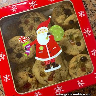 cookies veganos de frutas secas