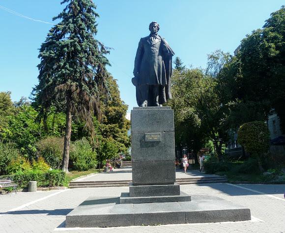 Тернопіль. Пам'ятник О. С. Пушкіну