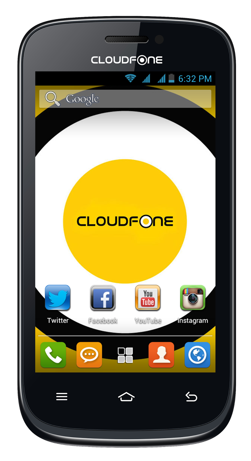 CloudFone Excite 400dx