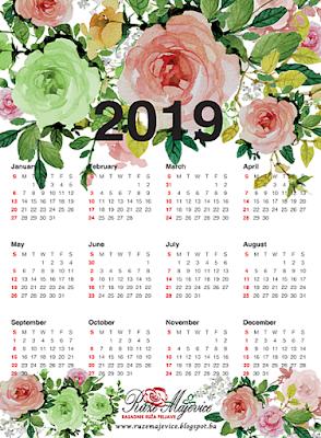 Sretna Nova 2019 Vase Ruze Majevice
