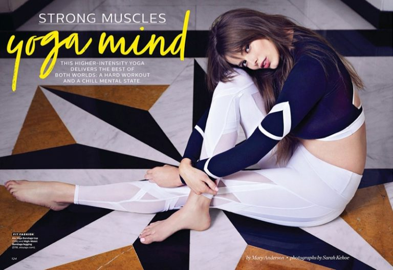 Robyn Lawley Shows Off Her Yoga Moves for Shape Magazine