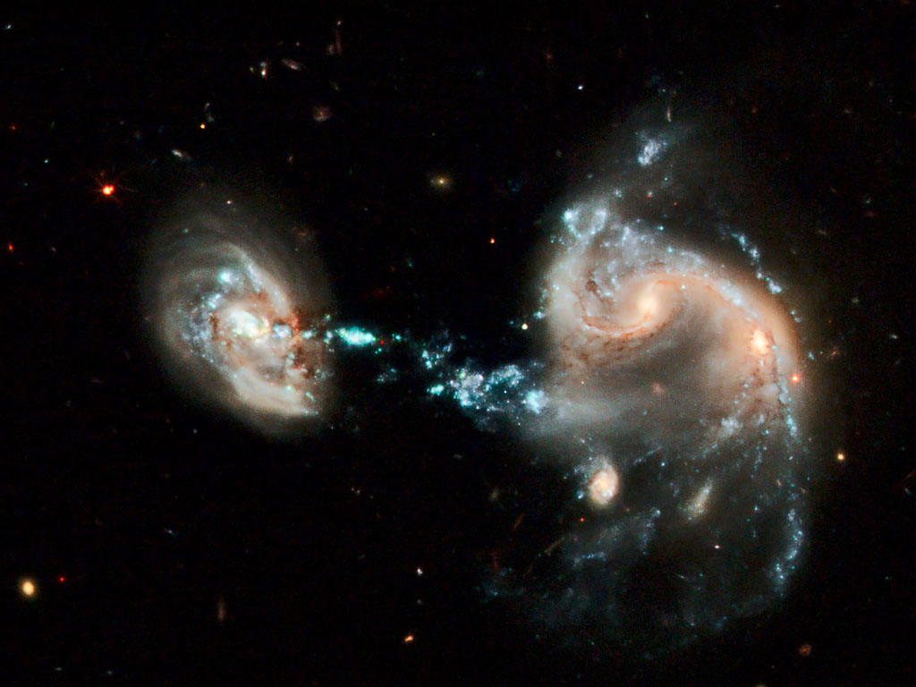 Gary Cox, Science Fiction/Fact Blog: When Galaxies Collide ...