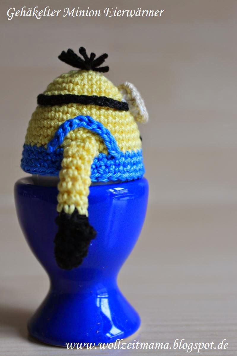 Wollzeitmama Eierwärmer Häkeln Im Stil Der Minions