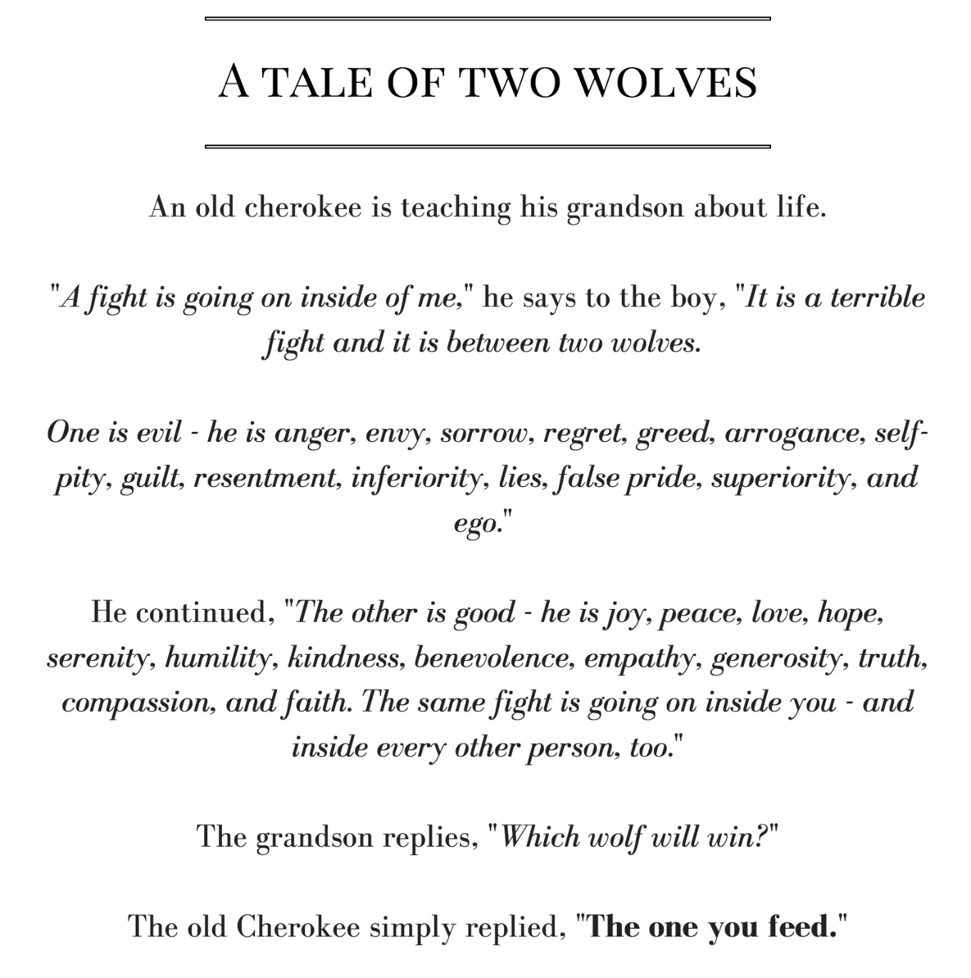 Beast Balance A Tale Of Two Wolves