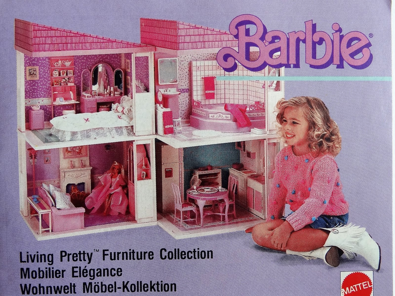 Living Pretty Barbie 1987